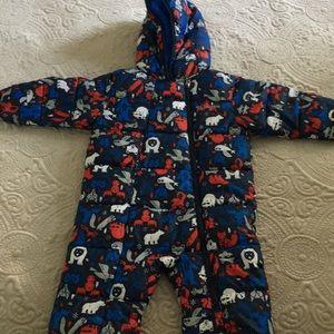 One-piece jacket